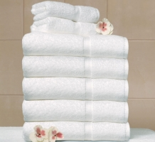Crown Touch Towel - White