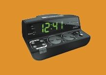 Sunbeam ® Clock Radio W/daily Alarm Reset