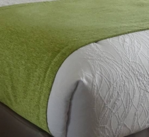 Bed Scarf Moss