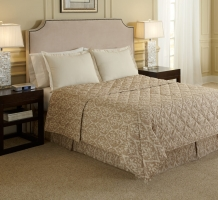 BENNET TAN COVERLET