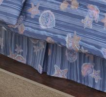 Shells & Stripes Bedskirt