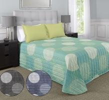 Circles Stripes Aqua + Colors