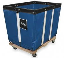Heavy Duty Hamper Basket Truck with Sewn Liner