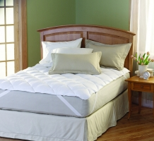 Mattress Topper with Anchor Bands