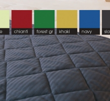 Solid Color Quilted Bedspreads