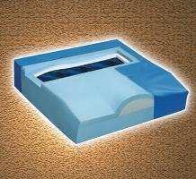 Titanium Memory Foam Cushion
