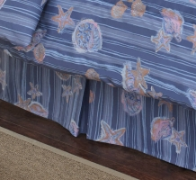 Shells & Stripes Bedskirt