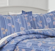 Shells & Stripes Pillow Shams