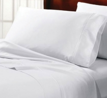 Hardycale 100% White Cotton Sheets