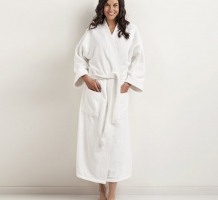 Optima Terry Kimono Velour Robe