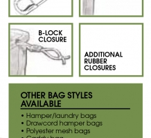 Mesh Laundry Bag Closure Options