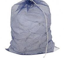 Mesh Laundry Bags w Drawcord