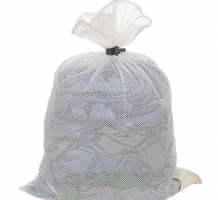 Mesh Laundry Bags w Dual Grip Rubber Closure
