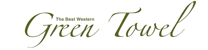 The Best Western Green Towel
