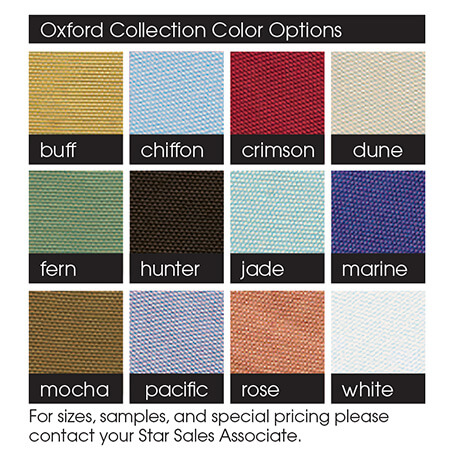 Oxford Collection Color Options