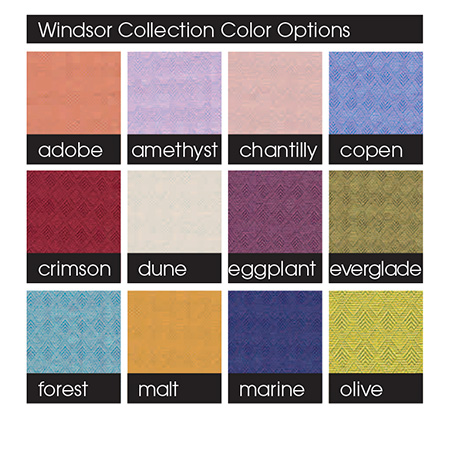 Windsor Collection Color Options